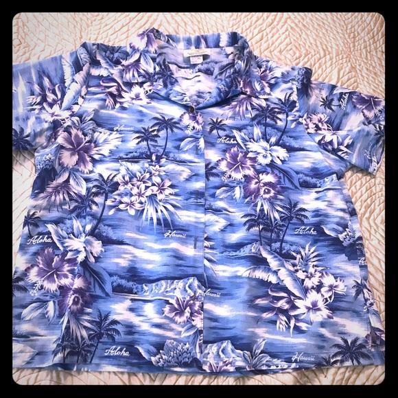 Vintage Hawaiian shirt made in Hawaii 🇺🇸 USA
